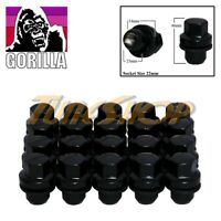 20 GORILLA RANGE ROVER 14x1.5 OEM OE STOCK FACTORY WHEELS RIM MAG LUG NUTS BLACK