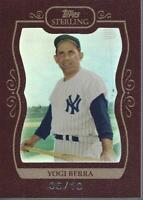 2008 Topps Sterling Framed Burgundy #66 Yogi Berra /10 - NM-MT