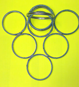 48mm OD, 40mm ID ALLOY AND FIBRE EXHAUST GASKETS SEAL HEADER GASKET RING    A48
