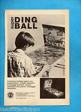 ALTOP971-PUBBLICITA'/ADVERTISING-1971- SOLAROLI - FLIPPER SUPER DING BALL