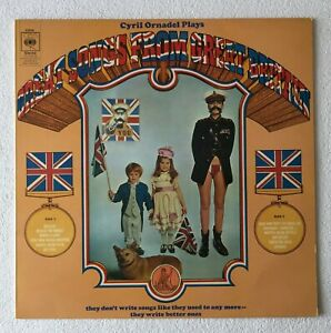 CYRIL ORNADEL ~ PLAYS GREAT SONGS FROM GREAT BRITAIN ~ 1969 UK 12-TRACK VINYL LP
