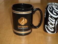 GIRL SCOUTS, Ceramic Coffee Mug, Vintage, Large Size
