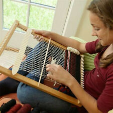 Weaving Loom Kit Looms Wooden Tapestry Hand-Knitted Machine DIY Woven Set Gifts
