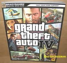 Grand Theft Auto IV Official Strategy Guide Book PS3 XBOX 360 New + Foldout Map