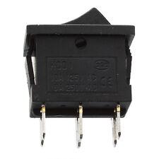 10 Pcs DPDT ON-OFF-ON Snap In Rocker Switch 6A/250V 10A/125V AC DT