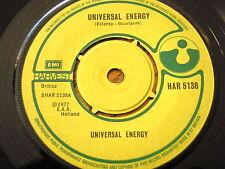 "UNIVERSAL ENERGY - UNIVERSAL ENERGY  7"" VINYL"
