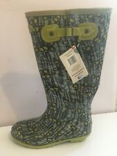 BRIERS TULIPS YELLOW SIZE 7 TALL RIDING WELLINGTON BOOTS SHOES WALKING GARDEN