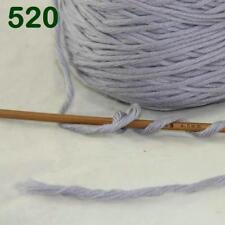 1 Cone 400g Worsted Cotton Chunky Super Bulky Hand Knitting Yarn Gray