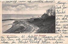 Fredericia Dinamarca Danemark Strib Foergebro E S Jessen Tarjeta Postal c1906