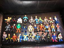 HUGE Lot 34 Imaginext Hasbro Playskool Heroes DC Batman Star Wars Transformers