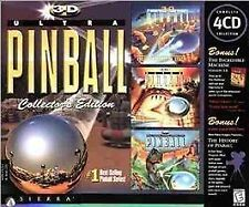 3-D Ultra Pinball Collector's Edition (Windows/Mac, 1998) COMPLETE