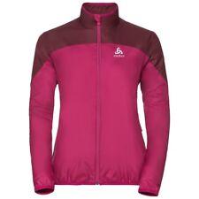 Odlo God Jacket Pink Hooded Full Zip Ladies Uk Large