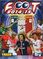 EVIAN - STICKERS IMAGE VIGNETTE - PANINI - FOOT 2014 / 2015 - a choisir