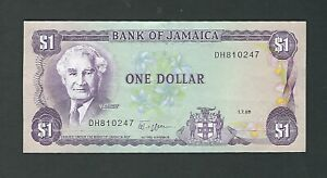 Jamaica - One (1) Dollar 1989
