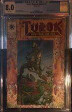 CGC CERTIFIED 8.0 VF Turok The Dinosaur Hunter #1 (July 1993) Valiant/Acclaim