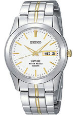 SEIKO SGG719P1,Men's QUARTZ,Stainless Steel,Sapphire Crystal,100m WR,NEW,SGG719