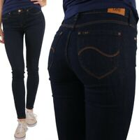 Lee Damen Jeanshose Jodee Super Skinny Marineblau W27 - W32