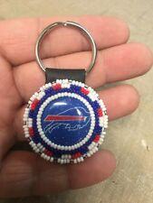 Native American Beaded Buffalo Bills Navajo Keychain Keyring Awesome Gift #1