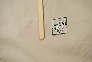 "1/16  x 3/8 x  23"" Model Lumber Strip Wood Dollhouse Supplies 5pcs Basswood"