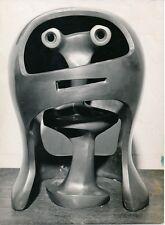 Henry MOORE - Sculpture The Head 1953  - ART 16
