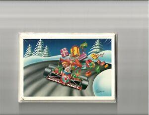Christmas Cards IndyCar Cart Curve Presents Champ Car IRL Formula 1