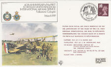 (07493) GB Cover RAF FF1-A Folkestone Cologne Airmail 60 years BFPS 1919 979