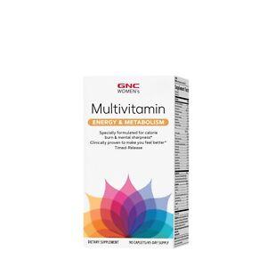 GNC Women's Multivitamin Energy and Metabolism 90 Caps