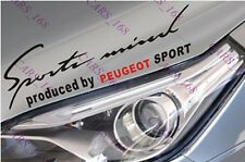 ☆New☆ Headlight Eyebrow Car Stickers Decals Graphics Vinyl For Peugeot  (Black)