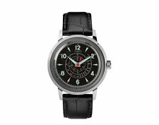 Timex X Todd Snyder Beekman 40mm SST Leather Strap Black Watch TW2T19500JR