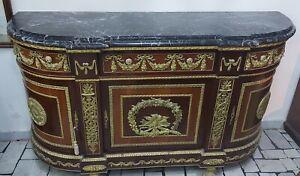 Credenza Luigi XVI, piano in marmo, originale a Verseilles