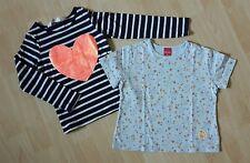 ☆ Neuwertiges H&M Langarmshirt Gr. 98/104 + Sanetta T-Shirt Gr. 98 ☆ Mädchen ☆