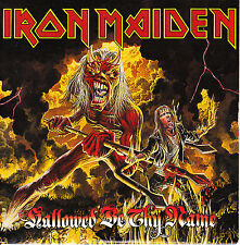 CD SINGLE IRON MAIDEN hallowed be thy name (live) HOLLAND rare 1993 2-TRACKS