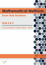2018 Exam Style Questions for VCE Mathematical Methods Units 3 & 4