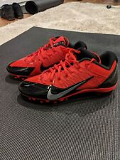 Nike Alpha Pro Low Molded Football Cleats Flywire Red 579545-006 Men Sz 11