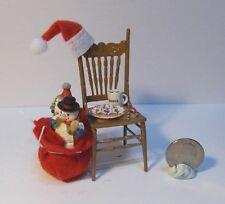 Dollhouse Miniature Christmas Santa Chair A 1:12 inch scale H107 Dollys Gallery