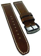Citizen Sports Chrono Uhrenarmband braun Leder 22mm schwarze Schließe CA0695-17E