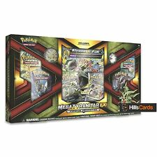 *DAMAGED* Pokemon TCG Mega Tyranitar EX Premium Collection Box: Boosters + Cards
