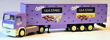 Volvo F12 Koffer-Sattelzug Milka Lila Stars 1:87 Albedo 300136