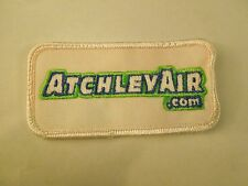 Vintage AtchlevAir Dot Com Advertising Uniform Embroidered Iron On Patch
