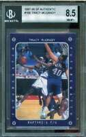 Tracy McGrady FW Rookie Card 1997-98 SP Authentic #166 BGS 8.5 (8 8.5 8.5 9)