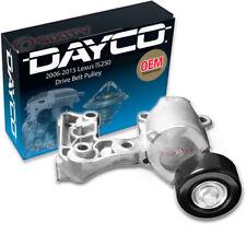 Dayco Drive Belt Pulley for 2006-2015 Lexus IS250 - Tensioner Alternator rg