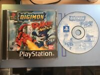 Digimon Rumble Arena (Sony PlayStation 1, 2002) - PAL Version