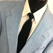 David Taylor Men's ATOMIC SKY BLUE Sport Coat TROPICAL Jacket ISLAND Blazer 46 L
