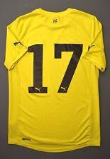 4.5/5 VILLARREAL #17 2010-2011 ORIGINAL FOOTBALL HOME JERSEY SHIRT PUMA SIZE S