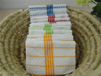 10PCS Cotton Kitchen Cloth Tea towel Dish Towels cleaning wipes Machine Washable