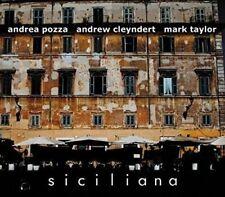 Andrew Cleyndert and Mark Taylor Andrea Pozza - Siciliana [CD]