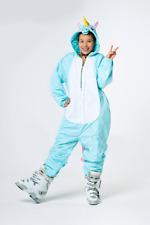 SKIANZUG KIGURUMI SAZAC JAPAN EINHORN Cosplay onesie Kostüm Ski Snowboard