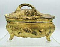 Antique 1910 W.B. Mfg. Co Art Nouveau Jewelry Casket Trinket Box No. 322