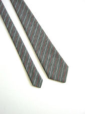 CRAVATTA TIE NUOVA NEW MADE IN ENGLAND VINTAGE 80 IDEA REGALO