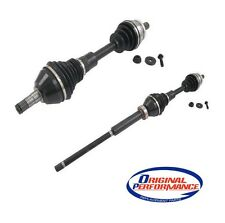 For Volvo XC90 L5 Pair Set of 2 Front CV Axle Shafts OpParts 40753028/40753025